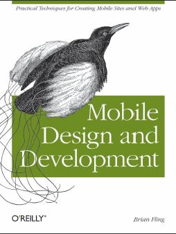 <<Mobile Design and development>>读书笔记二